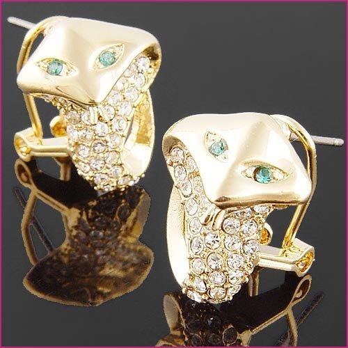 18kGP snake earring  $10