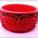 carved lacquer bracelet $ 11