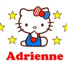 Hello Kitty- Personalized Notecards with Envelopes (10) (c)