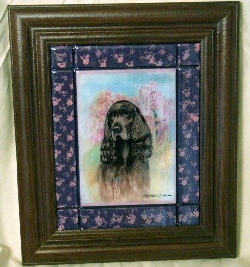 Field Spaniel 8x10 Tile Picture