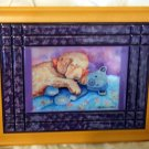 Golden Retriever Puppy 10x13 Tile Picture
