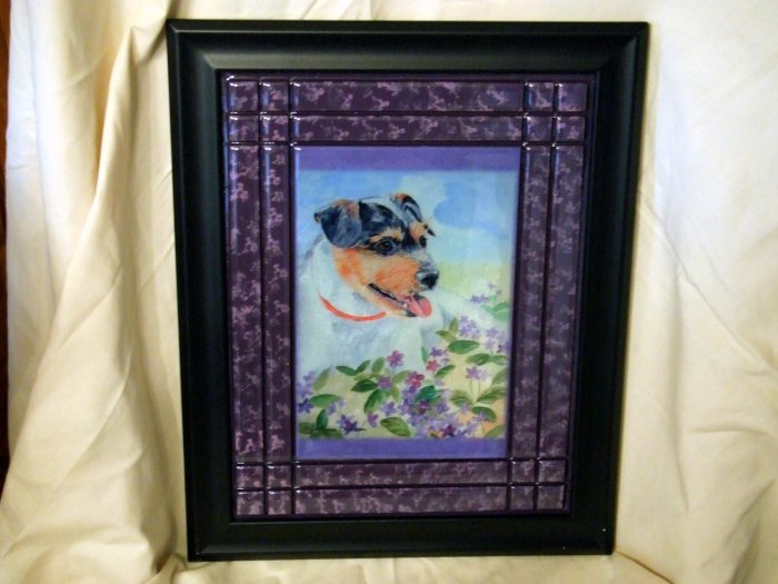 Parson Russell Terrier 8x10 Tile