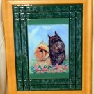 Brussels Griffon 10x13 Tile Picture