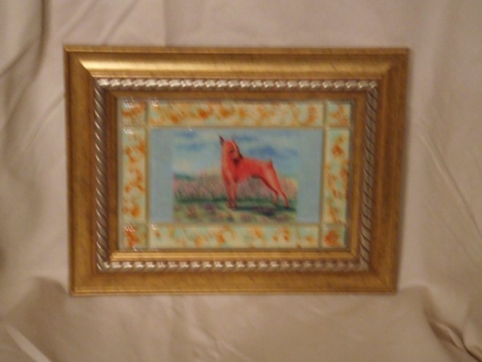 Miniature Pinscher 5x7