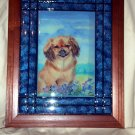 Tibetan Spaniel Tile Picture 10x13