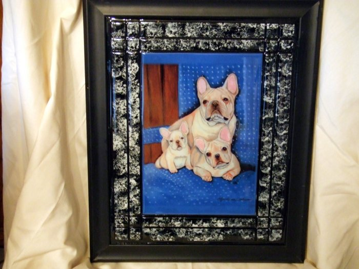 French Bulldog 11x14 Tile Picture