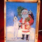 Great Dane Christmas Glass Block 6x8