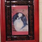 "Japanese Chin 5""x7"" Tile Picture"