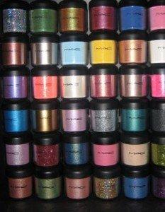 Mac Pigment 10 Lot
