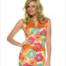Go-Go Daisy Dress Costume ( Med/Large ) ~igemini.net~