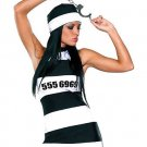 Prison 3-piece Dress Costume ( Plus ) ~igemini.net~