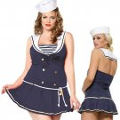 Sailor Dress and Hat Costume ( Plus ) ~igemini.net~