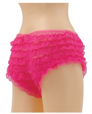 Ruffle Hot Pants ( M/L ) Costume Accessory ~igemini.net~
