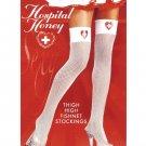 Nurse Thigh High Fishnet Stockings ( OS ) Costume Accessories ~igemini.net~