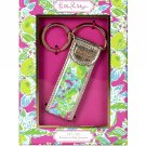 Lilly Pulitzer Key Fob, Pink Lemonade