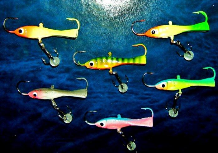Walleye Ice Fishing Lures Vertical Ice Fishing Lures