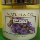 Bath and Body Works Slatkin Lavender Candle Large 3 Wick