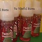 Bath & Body Works 5 Twisted Peppermint Anti Bacterial Hand Foam Set