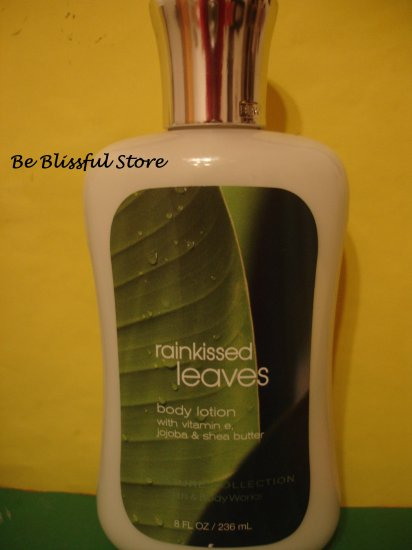 Bath & Body Works Rainkissed Leaves Lotion Full Size