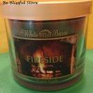Bath & Body Works Fireside Candle 4 oz
