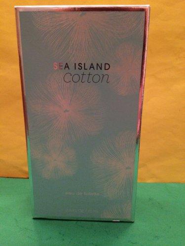 Bath and Body Works Sea Island Cotton Perfume EDT 2.5 oz Large Full Size