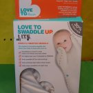 Love to Dream Love to Swaddle Up Lite White Small