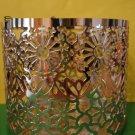 Bath & Body Works Slatkin Modern Snowflake Metal Candle Sleeve