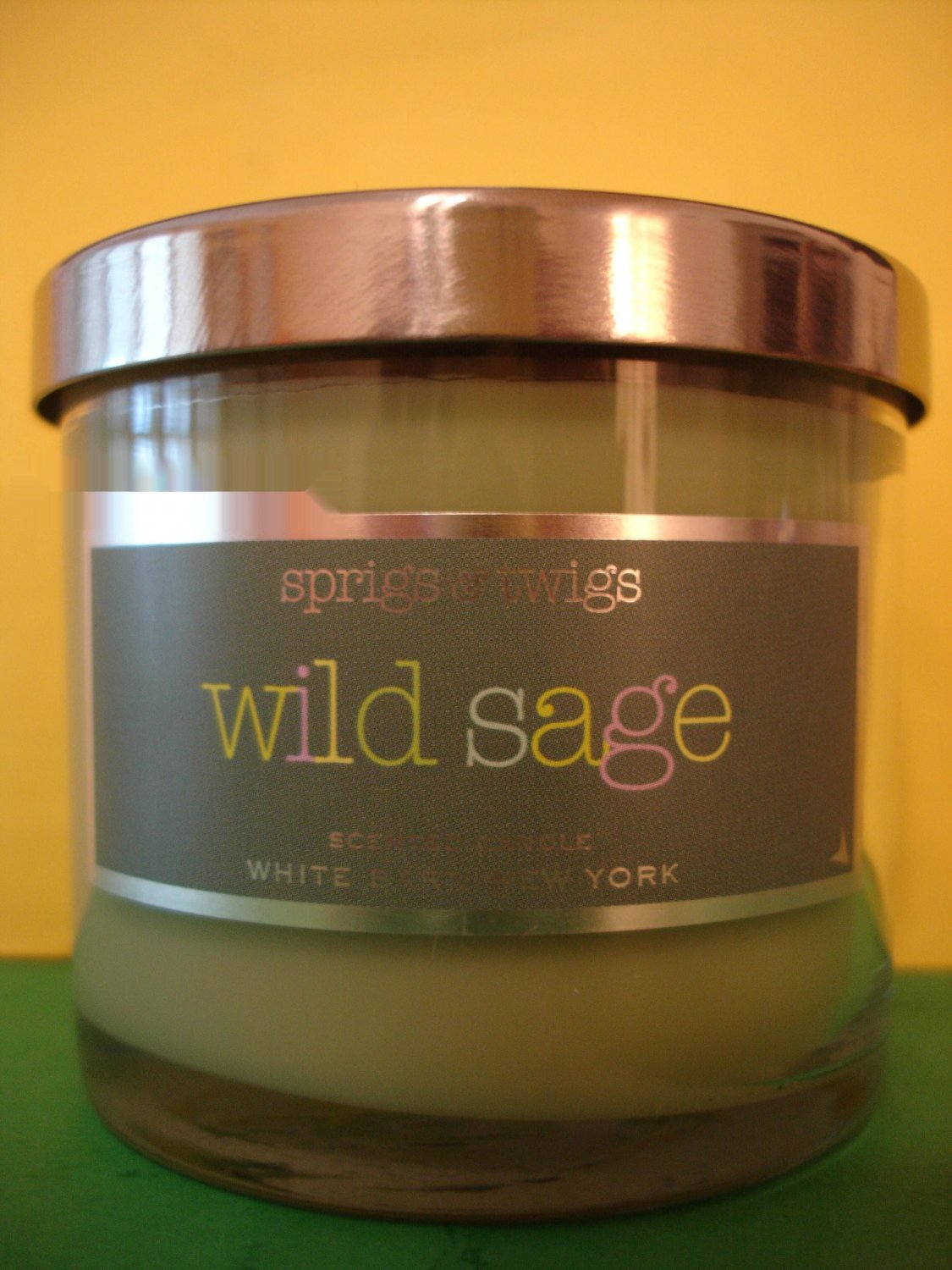 Bath Amp Body Works Wild Sage Candle 4 Oz