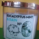 Bath & Body Works Eucalyptus Mint and Rain Candle 3 Wick Large
