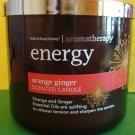 Bath & Body Works Original Aromatherapy Orange Ginger Candle 3 Wick