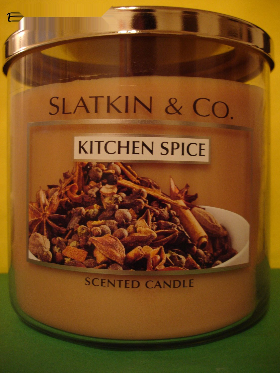 Bath & Body Works Kitchen Spice Extra Large 22 oz 3 Wick Candle