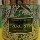 Bath and Body Works Slatkin Evergreen Candle Large 3 Wick