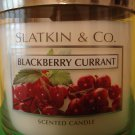 Bath & Body Works Slatkin Blackberry Currant 3 Wick Candle