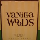 Bath & Body Works Henri Bendel Vanilla Woods Candle Large Full Size 60 hour