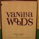 Bath & Body Works Henri Bendel Vanilla Woods Candle Large Full Size 60 hour
