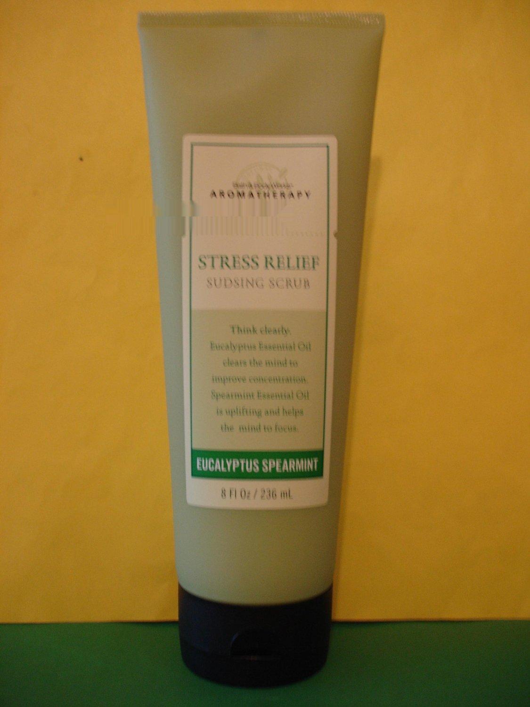 Bath & Body Works Aromatherapy Eucalyptus Spearmint Sudsing Body Scrub
