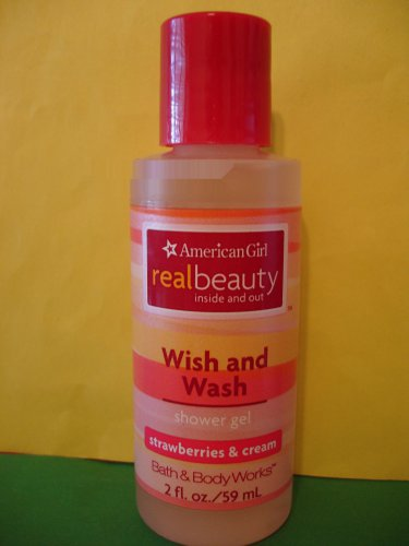 Bath & Body Works American Girl Strawberries & Cream Shower Gel 2 oz