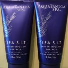 Bath & Body Works 2 AQUATANICA Spa HAIR Sea Silt Mineral Infusion
