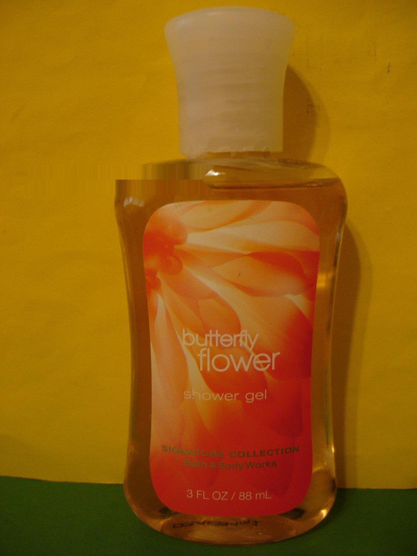 Bath and Body Works Butterfly Flower Shower Gel 3 oz