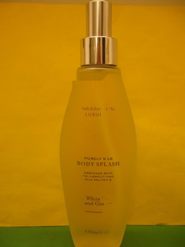 Bath & Body Works White Tea & Ginger Purely Silk Splash Full Size