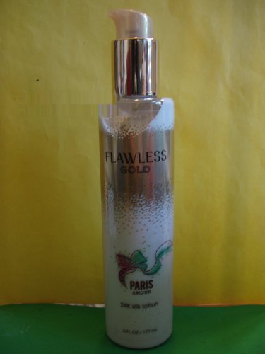 Bath & Body Works Paris Amour Flawless Gold 24K Silk Lotion Full Size
