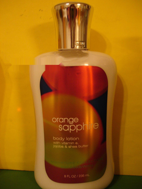 Bath & Body Works Orange Sapphire Lotion Full Size