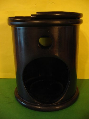 Bath & Body Works Slatkin Black Home Fragrance Oil Warmer Burner