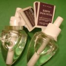 Bath & Body Works 2 Plum Wine Amber Wallflower Refill