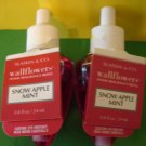 Bath & Body Works 2 Snow Apple Mint Wallflower Refill