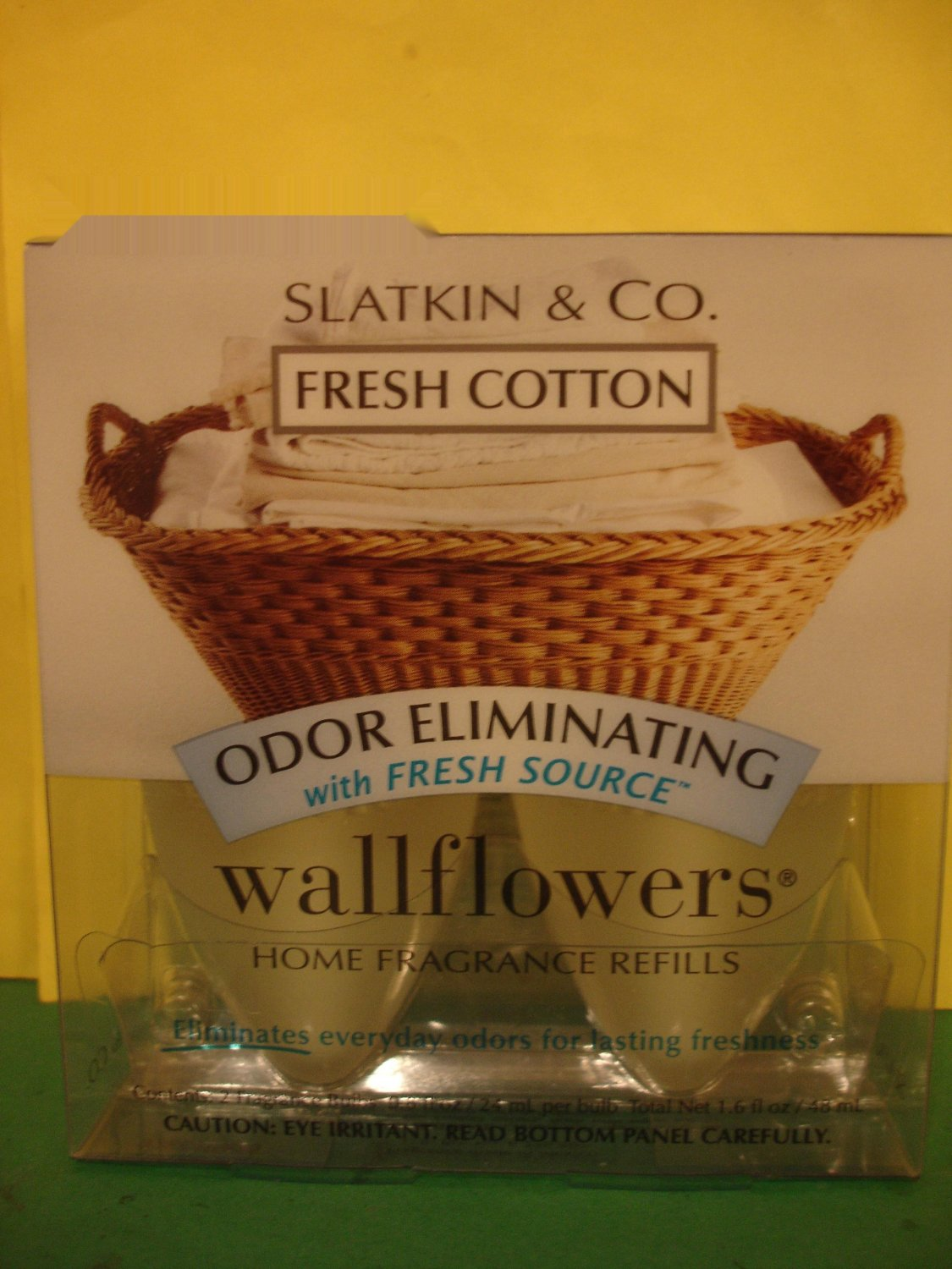 Bath & Body Works 2 Fresh Cotton Odor Eliminating Wallflower Refills