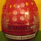 Bath & Body Works Slatkin Frosted Cranberry Scentegg Air Freshener