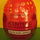 Bath & Body Works Slatkin Autumn Apple Scentegg Air Freshener