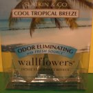 Bath & Body Works 2 Cool Tropical Breeze Wallflower Refills