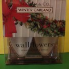 Bath and Body Works 2 Winter Garland Wallflower Refill